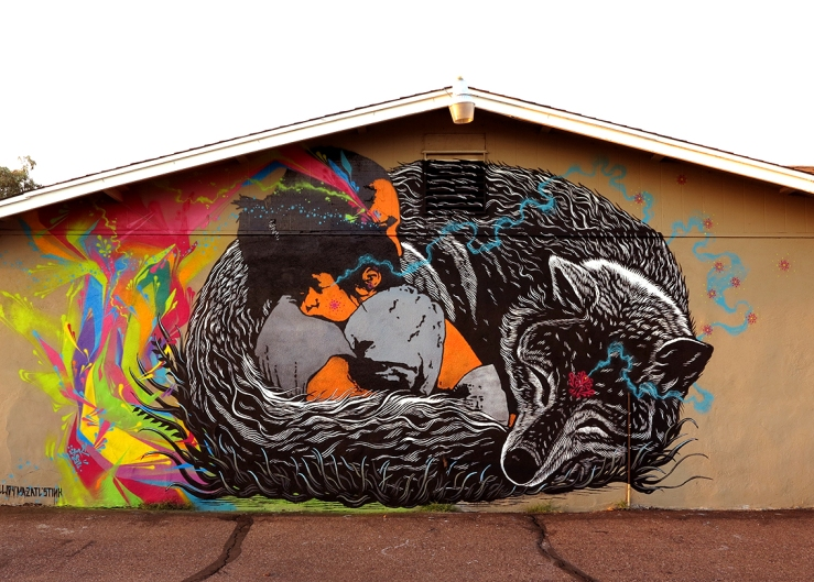 Mural by Stinkfish