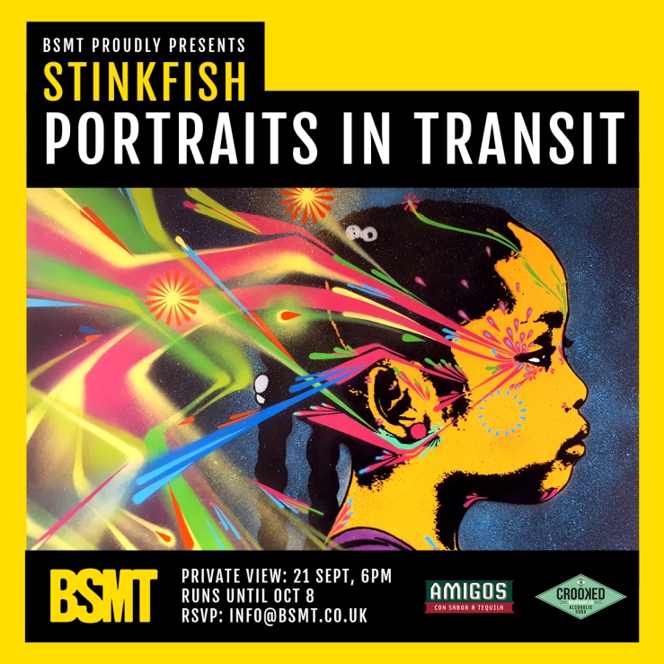BSMT_Stinkfish_Portraits in Transit